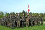 Consegna dello stendardo - Battaglione blindati 13