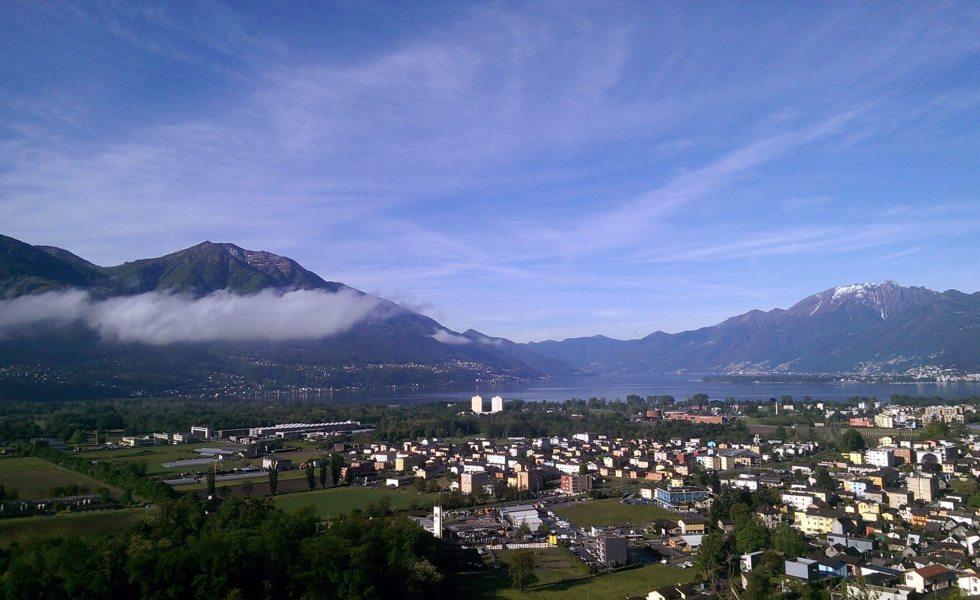 Vista panoramica di Gordola