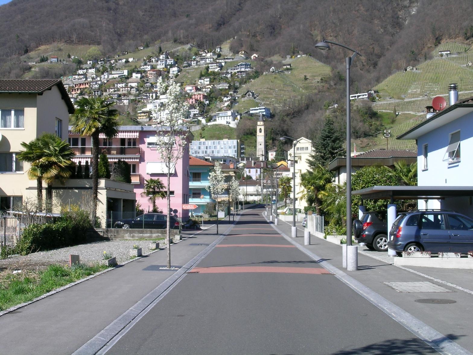 Gordola - Via Centro Sportivo